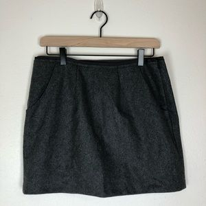 J. Crew gray work skirt size 6 new with tag